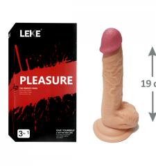 19 cm yapay penis realistik yapay penis
