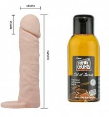 4 cm dolgulu penis kılıfı