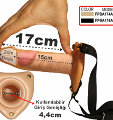 17 Cm Takma Penisler