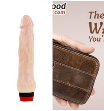 Titreşimli vibratör cüzdan hediyeli