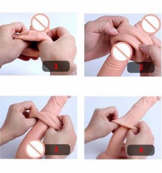 Uzatmalı prezervatif, 5 cm dolgulu prezervatif