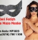 Deri Fetişh Sado Mazo Maske