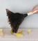 Hindi kuşu tüyünden toz tüy alma fırçası